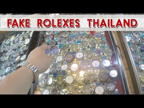 Rolex Replicas and Fake Rolex Submariner Thailand