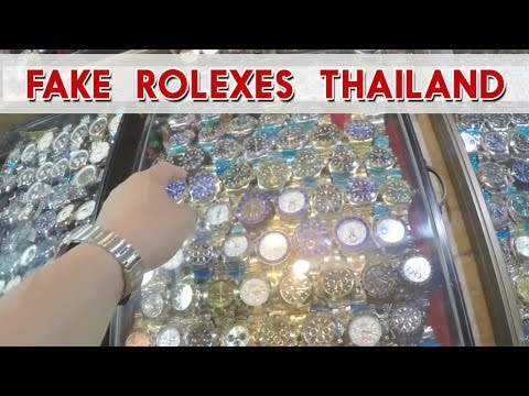 Thumbnail: Rolex Replicas and Fake Rolex Submariner Thailand