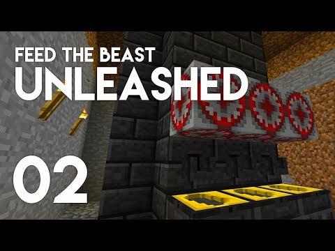 ►FTB Unleashed: ORE PROCESSING! (Episode 2)◄