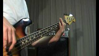The Supremes - You Keep Me Hanging On  - Bass Cover