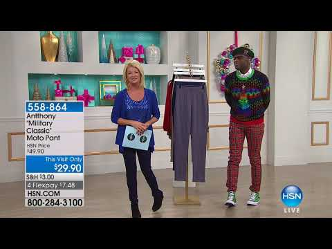 HSN | Antthony Design Original Fashions 12.04.2017 - 02 PM