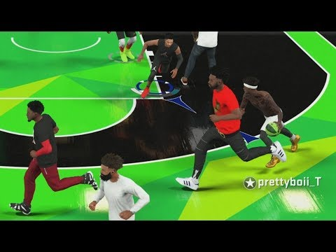 NBA 2K18 My Career - Game Testers! PS4 Pro 4K Gameplay