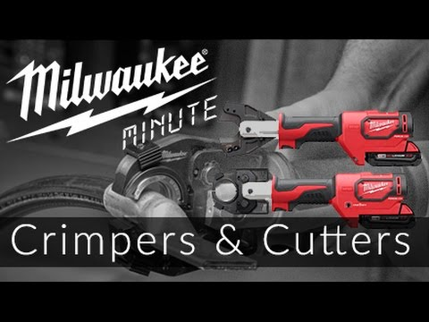 18v force logic cutter and crimper | milwaukee minutes -