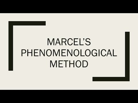Philosophy 101: A Simplified Explanation of Marcel's Phenomenological Method