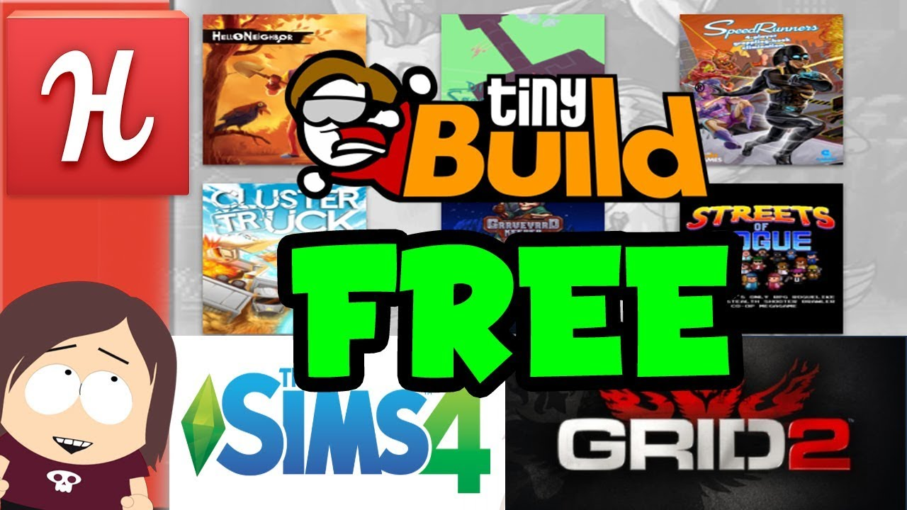 Humble Bundle Free Games 2020.New Humble Tinybuild Bundle Free Games Sims 4 Grid 2