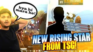 NEW RISING STAR FROM TSG! TSG VIHAAN UNBELIEVABLE 1v4 CLUTCH😎 ll RITIK AND JASH LIVE REACTION😯