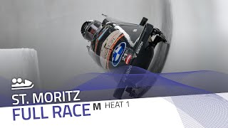 St. Moritz | BMW IBSF World Cup 2020/2021 - 2-Man Bobsleigh Heat 1 | IBSF Official