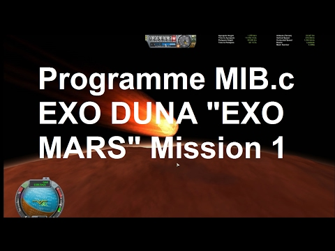 "EXO DUNA ""EXO MARS"" Mission 1 - atterrisseur Agence spatiale MIB.c"