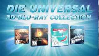 Die Universal 3D Blu-ray Collection - Trailer german/deutsch HD