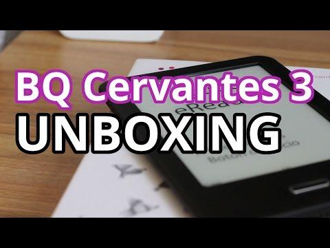BQ Cervantes 3 - UNBOXING | bqsfera
