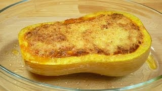 Gefüllter Kürbis Bzw. Butternusskürbis (stuffed Pumpkin/ Butternut Squash)