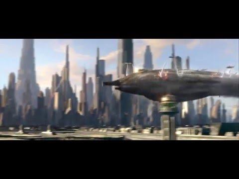 Star Wars Episode III - Revenge of the Sith: Crash landing on Coruscant [1080p HD]