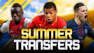 SUMMER TRANSFERS! w/ MBAPPE, DRAXLER, SANCHEZ & MORE! - FIFA 18 ULTIMATE TEAM