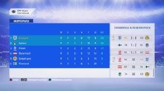 EM Qualifikation Ergebnisse nach Gruppe/Spiel 9