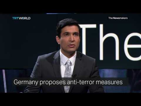 The Newsmakers: German Anti-Terror Measures and US Private Prisons