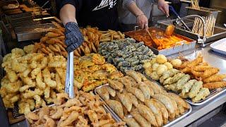 튀김 종류만 12가지! 가래떡 떡볶이로 대박난 분식맛집…