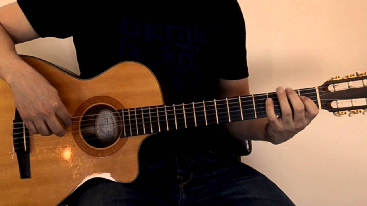 One Minute Guitar Lesson Middle East Hijaz Youtube