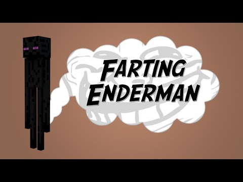 Farting Enderman - Minecraft