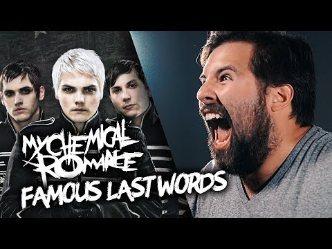 FAMOUS LAST WORDS - My Chemical Romance - (Caleb Hyles & Jonathan Young)