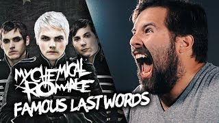 FAMOUS LAST WORDS - My Chemical Romance - (Cover by Caleb Hyles & Jonathan Young)