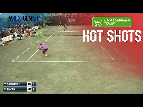 Thumbnail: Tiafoe Fires Final Hot Shot At Sarasota Challenger 2017