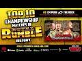 COUNTDOWN: Top 10 Royal Rumble Title Matches (#8 CM Punk vs. The Rock)