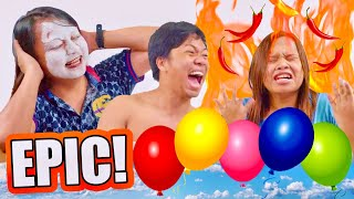 DO WHAT'S INSIDE THE BALLOON CHALLENGE (PUTUKAN NA!)