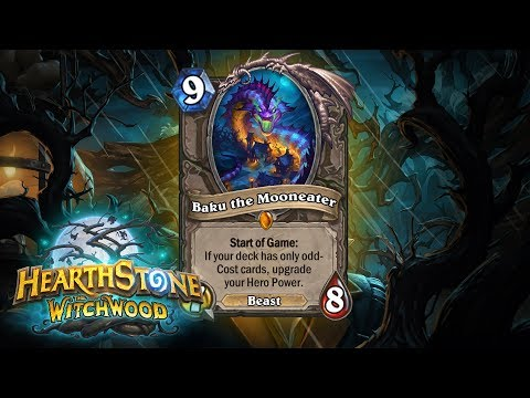 The Witchwood  -New Expansion!- Card Showcase #1