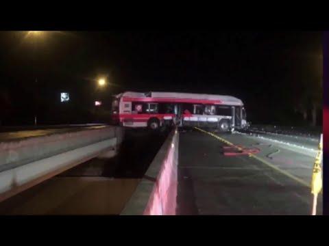 JTA bus driver rescued after crash