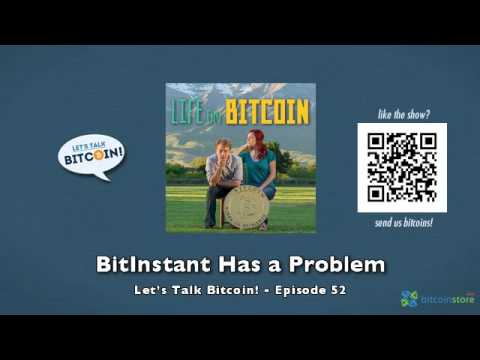 BitInstant Has a Problem