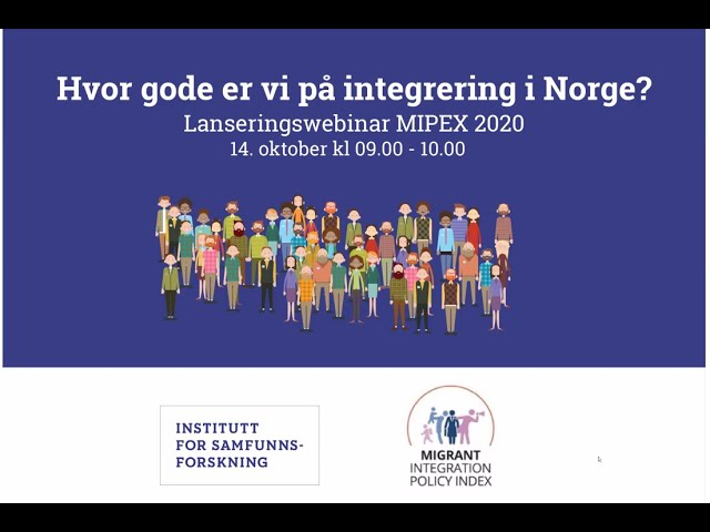 #MIPEX2020 - Norway national launch