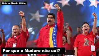 Por que o Maduro não cai?