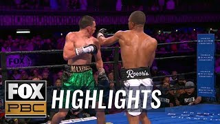 Jeison Rosario sends Marcos Hernandez to the mat with a massive left | HIGHLIGHTS | PBC ON FOX