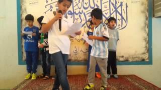 إذاعة التربية الإسلامية تحت إشراف أ / عبدالله الصوينع بمدارس الرواد بريدة القسم الابتدائي