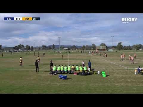 Academy Series 2019: Brumbies U18s vus Rugby WA U18s