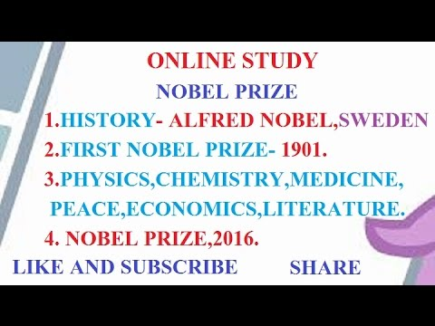 NOBEL PRIZE WINNER 2016, NOBEL PRIZE HISTORY OF INDIA.
