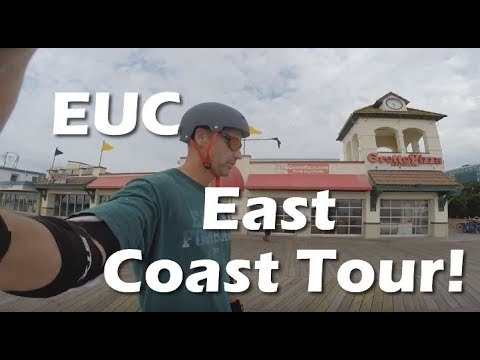 East Coast Electric Unicycle Tour!