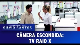 Câmera Escondida (28/08/2016):  TV Raio X