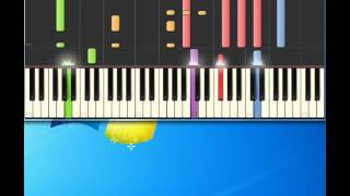 Bread   Guitar Man [Piano tutorial by Synthesia]