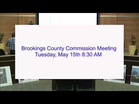 Brookings County Commission 2018-05-15