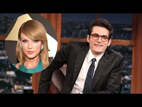 John Mayer Disses Taylor Swift During Late Late Show Monologue - VIDEO!