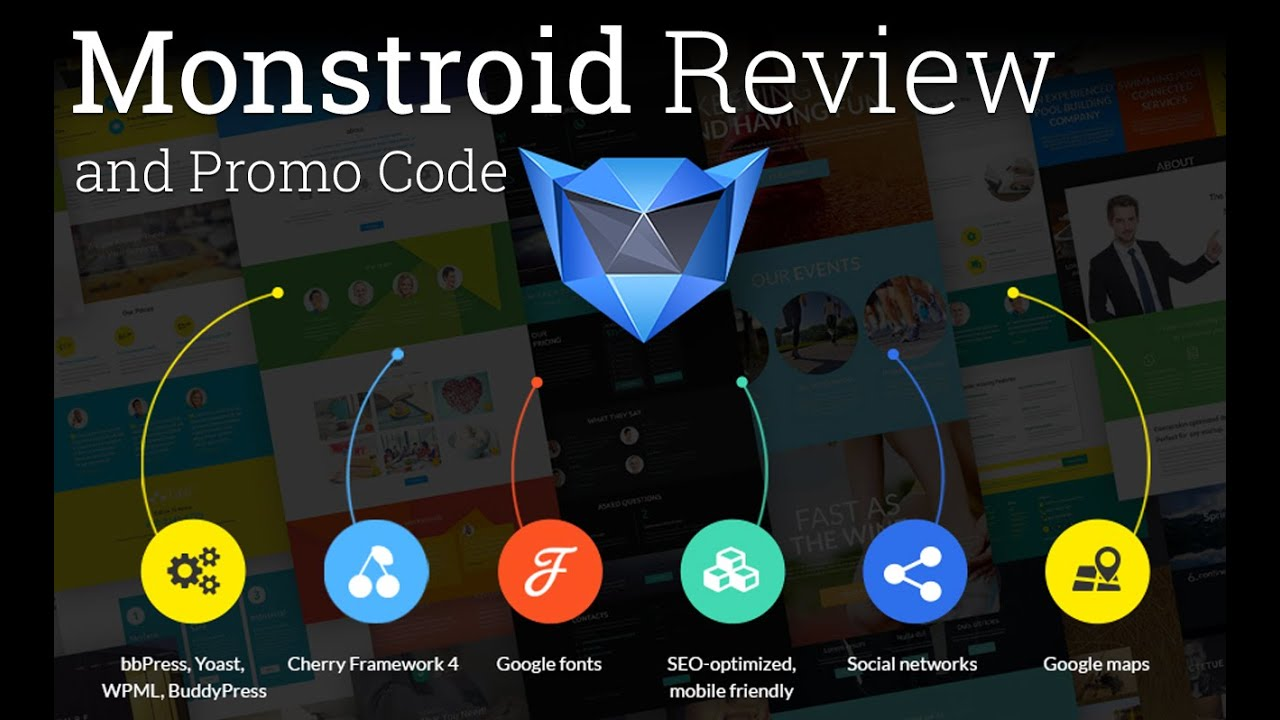 templat monster - monstroid review and template monster discount youtube