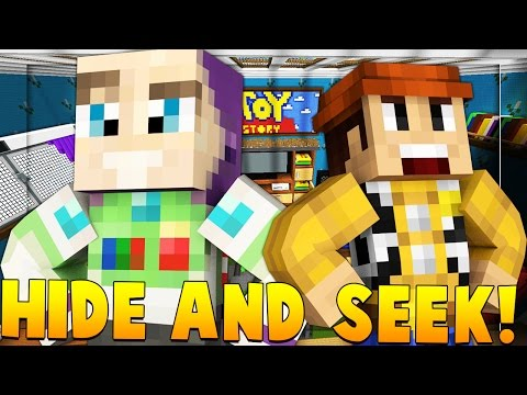 BABY TOY STORY Minecraft Hide N' Seek Modded Minigame