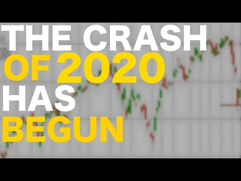 The Stock Market Crash Of 2020 Just Started