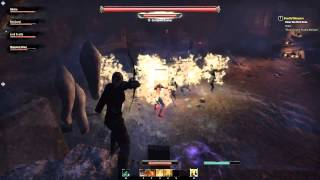 Elder Scrolls Online - Deadly Whispers - The Whisperer Boss Fight Cleared