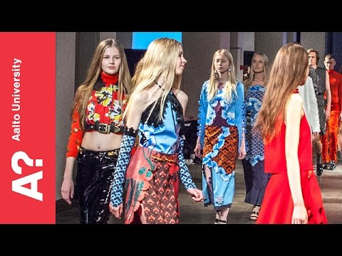 Näytös15 Spring Fashion Show (no sound) 22.5.2015 - Aalto University