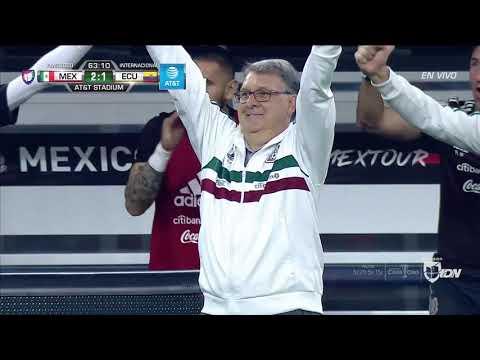 Mexico Vs Ecuador 2019 Highlights 3-2