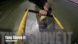 Tutoriel Wakeskate cable - tricks Shove it [fr]
