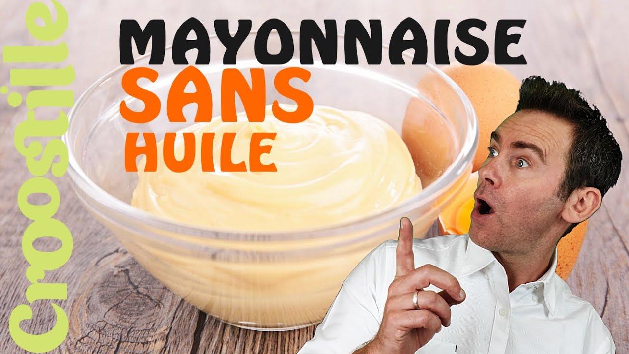 Comment faire une mayonnaise sans huile for Comment recuperer une mayonnaise