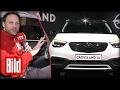 Crossland X - Opels neues Stadt-SUV im Test